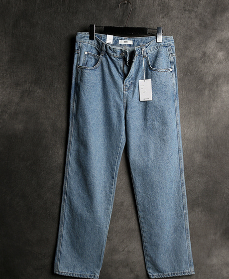 P-5897BASIC DENIM WIDE PANTSColor : 1 colorMaterial : denim