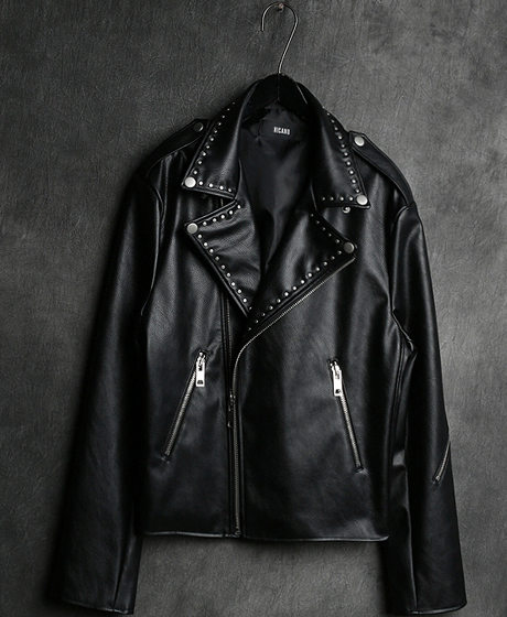JK-6553ANDERSON LEATHER RIDER JACKET앤더슨 가죽 라이더 자켓Color : 1 colorMaterial : leather
