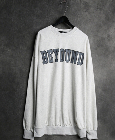 T-10713BEYOUND PRINTING MTM비욘드 프린팅 맨투맨Color : 4 colorMaterial : cotton