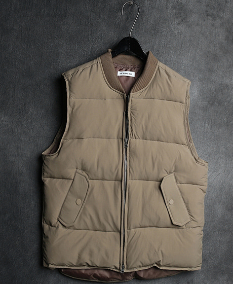 JK-7174DUCK-DOWN VEST PADDING JACKET오리털 조끼 패딩 자켓Color : 3 colorMaterial : duck down