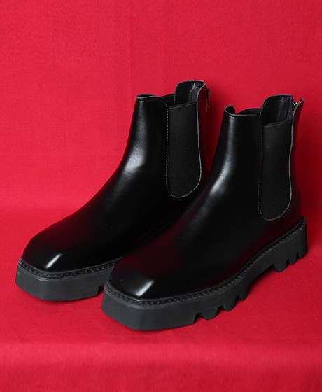 A-7240COWHIDE CHELSEA BOOTS소가죽 첼시 부츠Color : 1 colorHeel height : 4cm