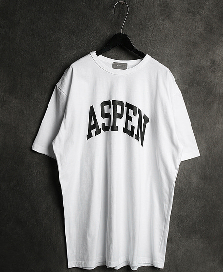 T-11759ASPEN PRINTING TEEASPEN 프린팅 티셔츠Color : 4 colorMaterial : cotton