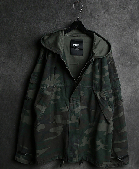 JK-8348CAMOUFLAGE ANORAK ZIP_UP JACKET카모플라쥬 아노락 집업 자켓Color : 2 colorMaterial : cotton