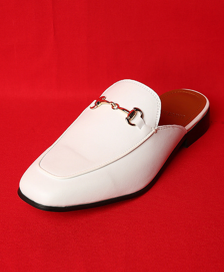 A-7722COWHIDE BLOAFER소가죽 블로퍼Color : 1 colorHeel height : 4cm