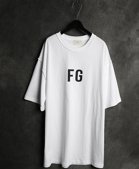 T-11988FOG LOGO PRINTING T-SHIRTFOG 로고 프린팅 티셔츠Color : 3 colorMaterial : cotton