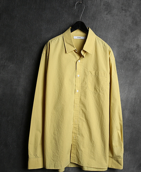 S-195340 EMBROIDERY HIGH DENSITY SHIRT40수 고밀도 셔츠Color : 7 colorMaterial : cotton