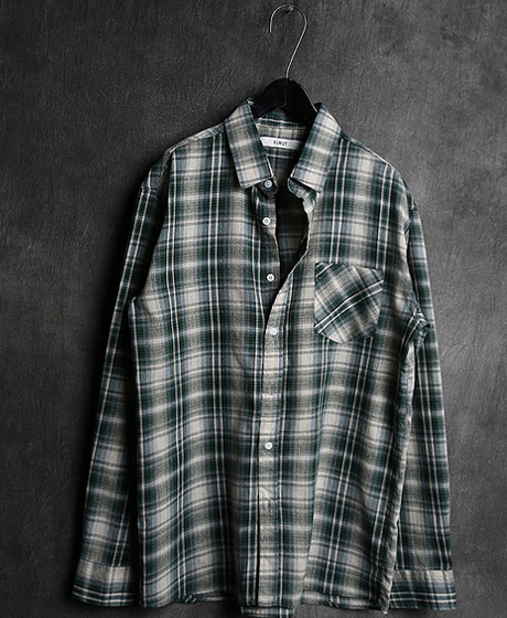 S-1952LINEN TARTAN CHECK PATTERN SHIRT린넨 타탄 체크 패턴 셔츠Color : 3 colorMaterial : cotton/linen
