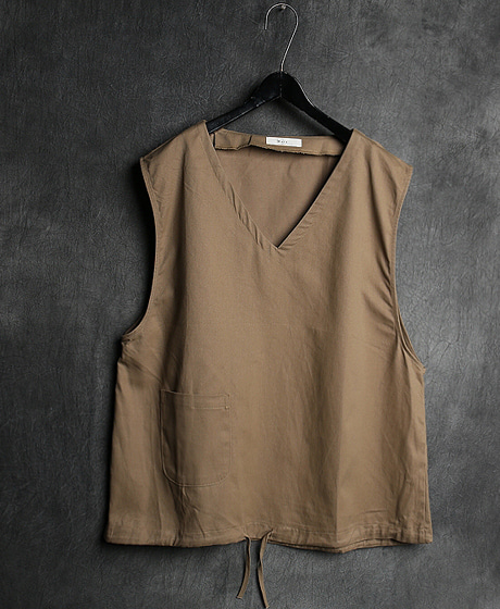 T-12984OXFORD VEST옥스퍼드 조끼Color : 2 colorMaterial : cotton
