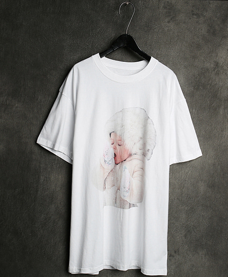 T-13130IMAGE PRINTING T-SHIRT이미지 프린팅 티셔츠Color : 2 colorMaterial : cotton