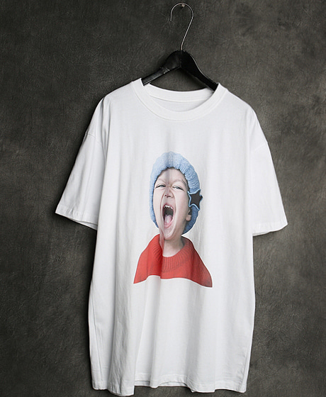 T-13126IMAGE PRINTING T-SHIRT이미지 프린팅 티셔츠Color : 2 colorMaterial : cotton