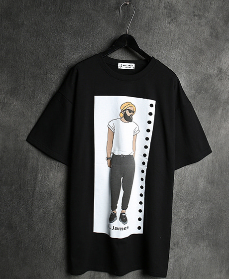 T-13071IMAGE PRINTING T-SHIRT이미지 프린팅 티셔츠Color : 1 colorMaterial : cotton