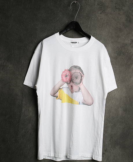 T-13133IMAGE PRINTING T-SHIRT이미지 프린팅 티셔츠Color : 1 colorMaterial : cotton