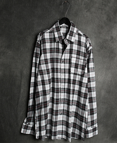 S-2097CHECK PATTERN SHIRT체크 패턴 셔츠Color : 2 colorMaterial : cotton
