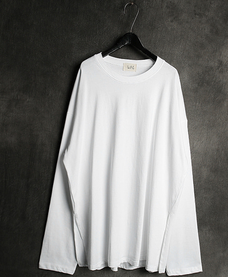T-13551INCISION OVERSIZE FIT T-SHIRT절개 오버사이즈 핏 티셔츠Color : 3 colorMaterial : cotton