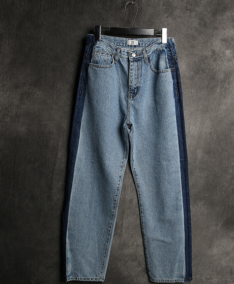 P-8072NAPLES LINE DENIM PANTS나폴리 라인 데님 팬츠Color : 1 colorMaterial : denim