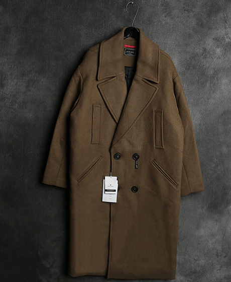 JK-10108BIG POKET DOUBLE COAT빅 포켓 더블 코트Color : 2 colorMaterial : wool
