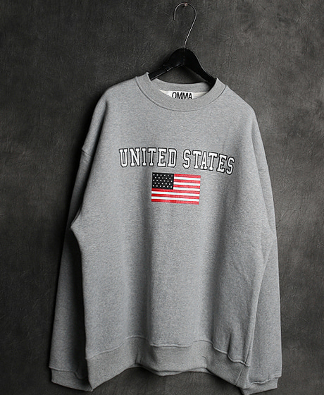 T-14126UNITED STATES MTMUSA 맨투맨Color : 3 colorMaterial : cotton