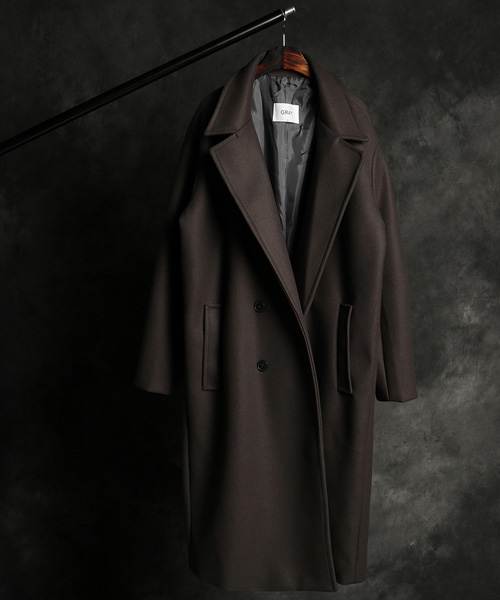 JK-14731bunto double long coat