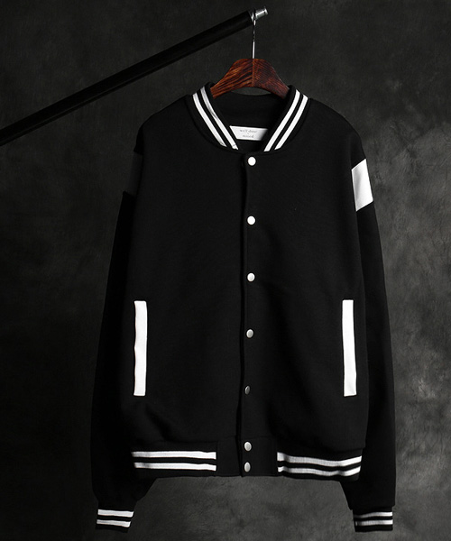 JK-15751color scheme stadium jacket
