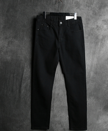 P-5560COATING BLACK DENIM PANTSColor : 1 colorMaterial : denim