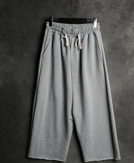 P-5614GVC WIDE TRAINING PANTSColor : gray/blackMaterial : cotton