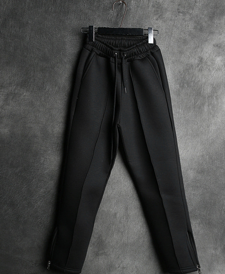P-5617NEIL. ZIPPER BANDING PANTSColor : black/grayMaterial : neoprene