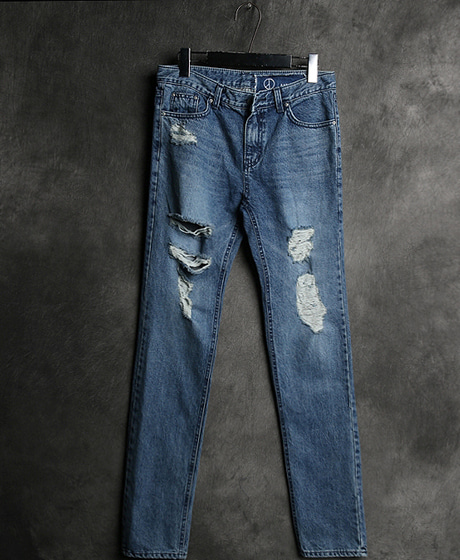 P-5621PMO X AMBUSH DAMAGED DENIM PANTSColor : 1 colorMaterial : cotton/spandex