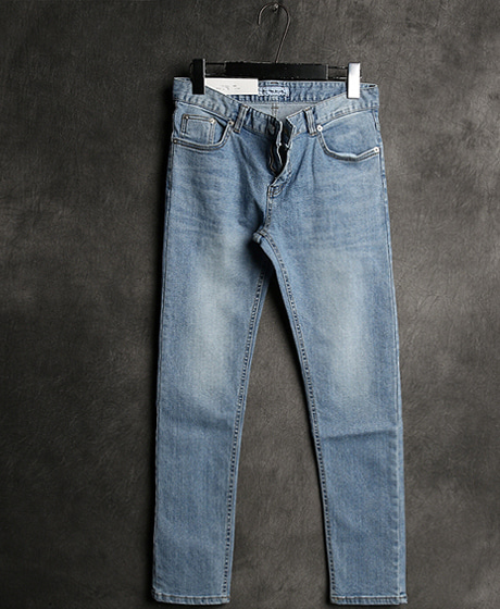 P-5672MILK WASHING SLIM DENIM PANTSColor : 1 colorMaterial : cotton/ella