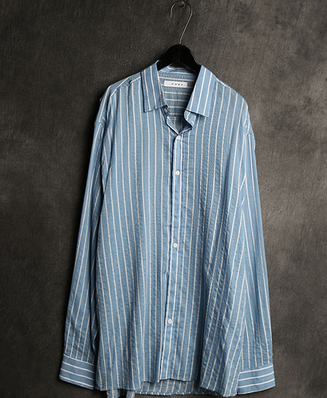 S-1465STRIPED PATTERN REGULAR SHIRTColor : 2 colorMaterial : cotton
