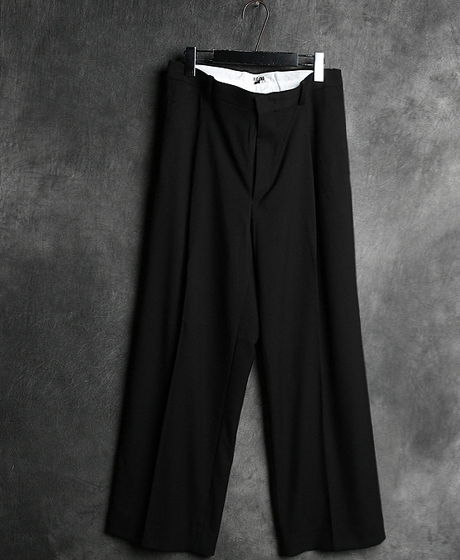 P-6292GVC WRINKLE WIDE LONG PANTSGVC 주름 와이드 롱 팬츠Color : 1 colorMaterial : cotton/poly