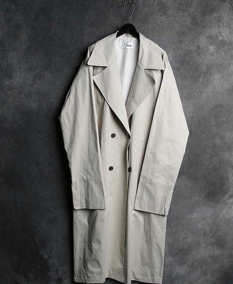 JK-6552OVERSIZED TRENCH LONG COAT오버사이즈 트렌치 롱 코트Color : 2 colorMaterial : cotton