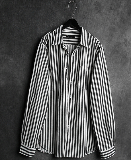 S-1591STRIPED POKET SHIRT스트라이프 포켓 셔츠Color : 2 colorMaterial : cotton