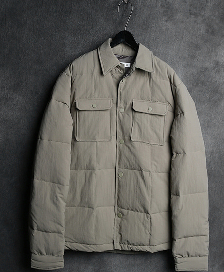 JK-7175DUCK-DOWN POKET PADDING JACKET오리털 포켓 패딩 자켓Color : 3 colorMaterial : duck down