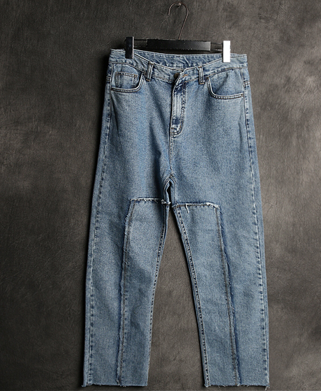 P-6477VTM INCISION DENIM PANTSVTM 절개 데님 팬츠Color : 2 colorMaterial : denim