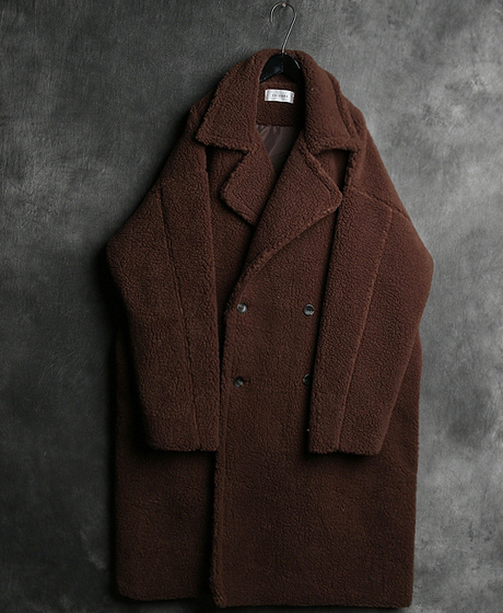 JK-6977WOOL DOUBLE BUTTON LONG COAT울 더블 버튼 롱 코트Color : 3 colorMaterial : wool