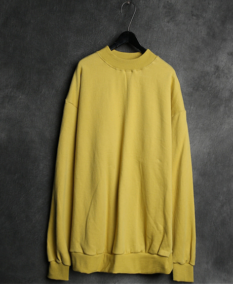 T-10888OVER NECK MTM오버넥 맨투맨Color : 4 colorMaterial : cotton