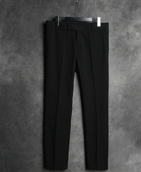 P-6600WRINKLE LINE SLACKS PANTS주름 라인 슬랙스 팬츠Color : 2 colorMaterial : cotton