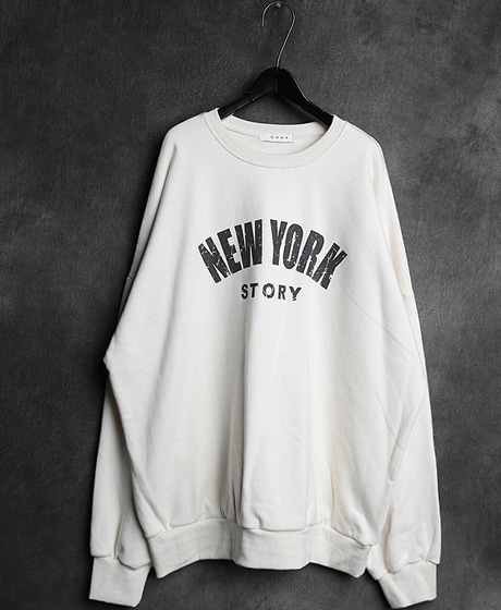 T-10889NEW YORK MTM뉴욕 맨투맨Color : 3 colorMaterial : cotton