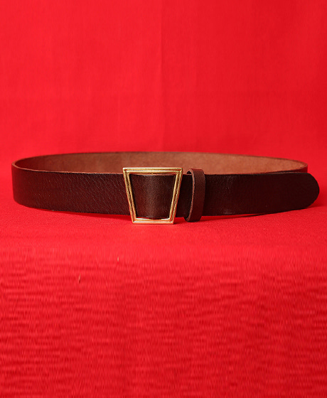 A-6793UNBALANCE SQUARE METAL BELT언밸런스 사각 메탈 벨트Color : 2 colorMaterial : cowskin