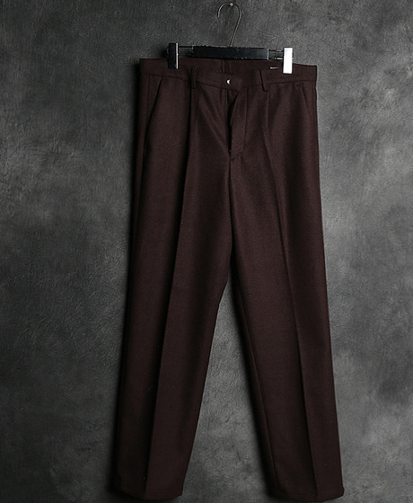 P-6695BASIC WOOL SLACKS PANTS베이직 울 슬랙스 팬츠Color : 2 colorMaterial : wool