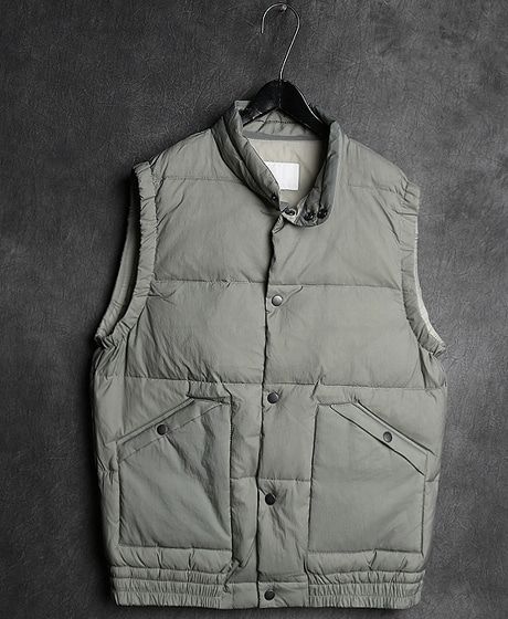 JK-7938VEST PADDING JACKET조끼 패딩 자켓Color : 2 colorMaterial : duck-down