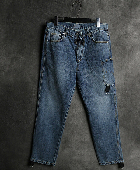 P-6775POKET DENIM PANTS포켓 데님 팬츠Color : 1 colorMaterial : denim