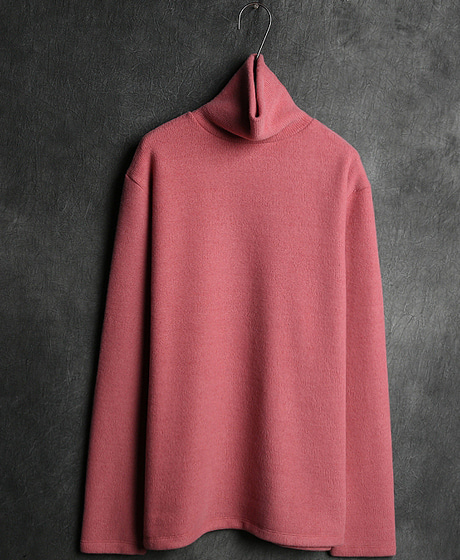 T-11168BASIC POLO NECK KNIT베이직 폴로 넥 니트Color : 6 colorMaterial : sweater