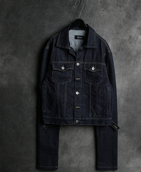 JK-8198RAF DENIM JACKETRAF 데님 자켓Color : 1 colorMaterial : denim