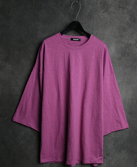 T-11415BASIC 3/4 T-SHIRT베이직 7부 티셔츠Color : 7 colorMaterial : cotton