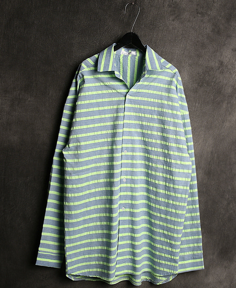 S-1865STRIPED LOOSE FIT SHIRT스트라이프 루즈핏 셔츠Color : 2 colorMaterial : cotton