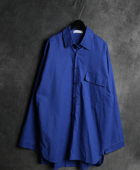 S-1917LINEN OVERSIZED SHIRT린넨 오버사이즈 셔츠Color : 4 colorMaterial : linen