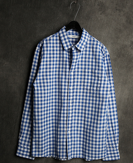 S-1950LINEN CHECK PATTERN SHIRT린넨 체크 패턴 셔츠Color : 3 colorMaterial : linen/cotton