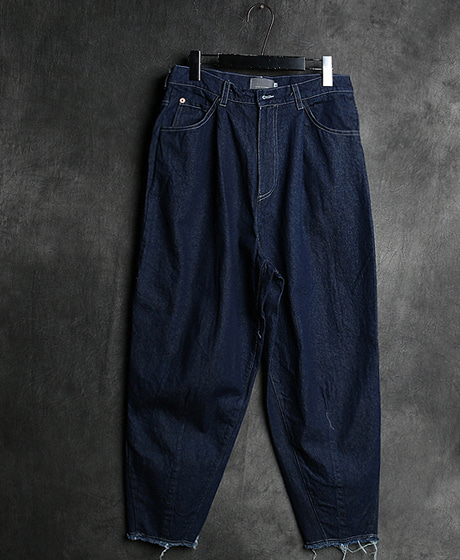 P-8039DENIM WASHING WIDE PANTS데님 워싱 와이드 팬츠Color : 1 colorMaterial : denim