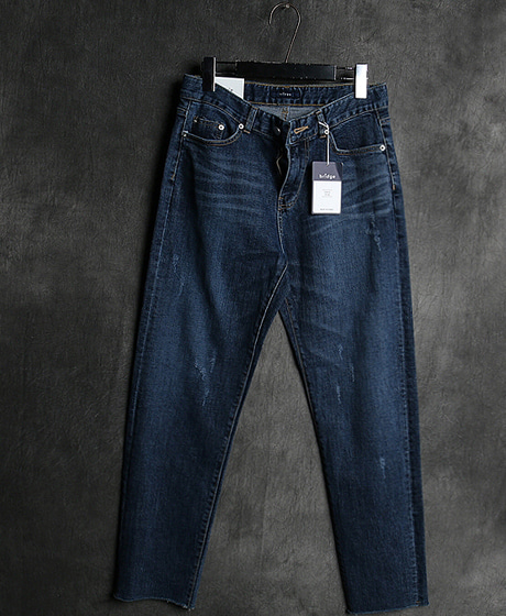 P-8181DAMAGED DENIM PANTS데미지 데님 팬츠Color : 1 colorMaterial : denim